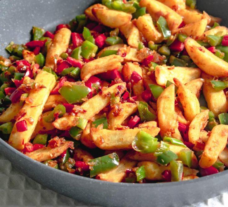 Salt and pepper chips, RECIPES WELLNESS